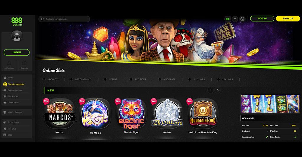 Uma análise detalhada do Casino 888