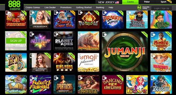 888 Casino Portugal oferece