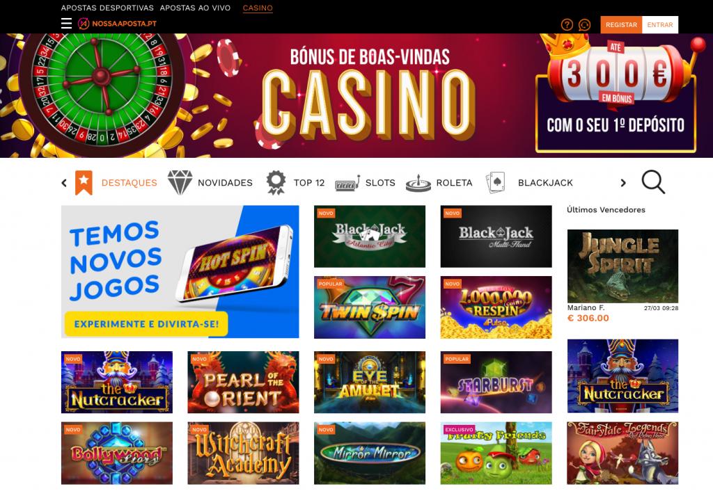casino a nossa aposta online
